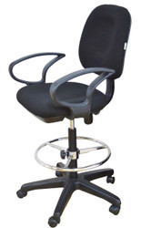 Boston Draughtsman Chair with Arms BS-808D - OUT OF STOCK