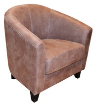 Bogoria Easy Chair T017 Mocha Fabric - OUT OF STOCK