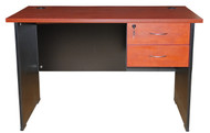 Cosmo Desk with 2 Drawer 1200*600 in Red Apple