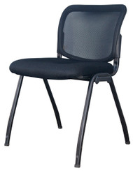 Visitor Chair D061 in Full Black