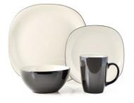 Thomson Pottery 16 Piece Dinnerware Set - Bali Latte