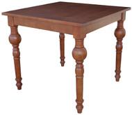 Square 4S Bistro Table in Brown