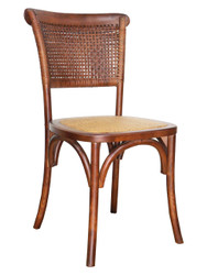 Parma Bistro Chair in Brown - OUT OF STOCK