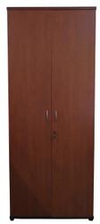 Cosmo 4T Swing Door Cabinet in Red Apple