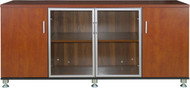 Cosmo 1.6m Credenza in Red Apple