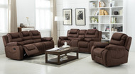 Athens 6 Seater Recliner in Mustang - OUT OF STOCK