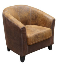 Bogoria Easy Chair in C375 & C257 Fabric