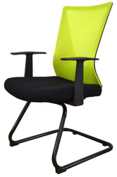 Visitor Chair HT-7068DEX in Yellow