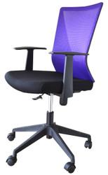 LB Chair HT7068BEX in Purple