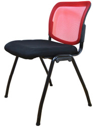 Visitor Chair D061 in Red