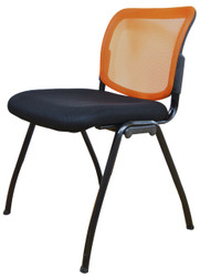 Visitor Chair D061 in Orange