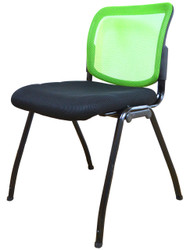 Visitor Chair D061 in Green