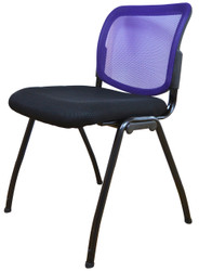 Visitor Chair D061 in Purple