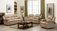 Veria 6 Seater Recliner in Beige J144