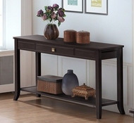 Shanghai 1 Drawer Console Table In Cappuccino - OUT OF STOCK