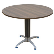Empire Circular Conference Table In Dark Oak