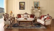 Santorini 7 Seater Sofa Set + Coffee Table & 2 Stools