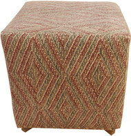 Fabric Square Ottoman (UP-90 HB-A)