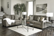 Calicho 7 Seater Sofa Set in Cashmere Fabric