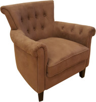 Mayfair Accent Chair In Mocha