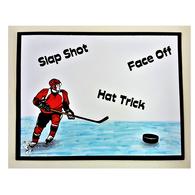 Hockey Player & Sayings