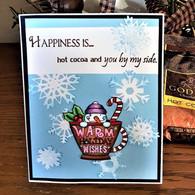 Cocoa snowman Cup