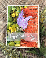Lilacs for Mother's Day by Maria
