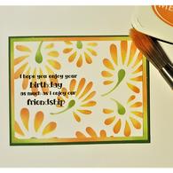 Birthday Friendship Card