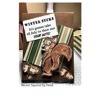 Squirrel by Heidi