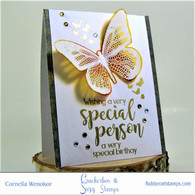 Special Person with Butterfly