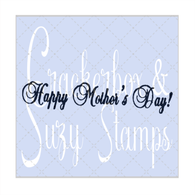 Script Happy Mother's Day Small