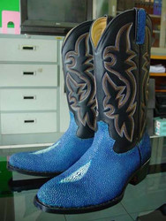 Exotic Tough STINGRAY Cowboy Boots