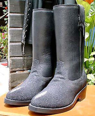Stingray Ropers-Biker Boots
