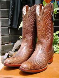 Cowboy Lizard Boots