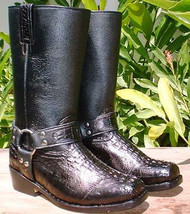 Crocodile Harness Boots