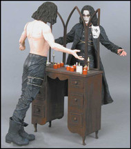 Eric Draven's boots in THE CROW with Brandon Lee