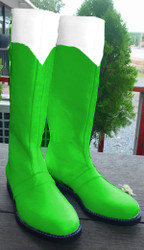 Green Power Ranger Boots