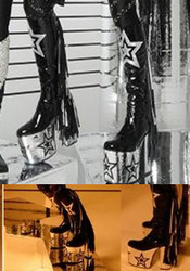 Kiss Inspired 2010 Star Boots