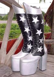 Kiss Me Paul - Star Boots