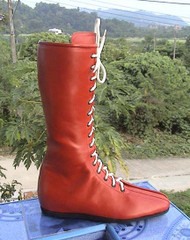 Nacho Libre Red Wrestling Boots