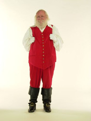Santa Boots for Victor Vest from brown leather