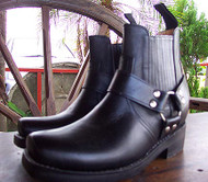 Short Harness Motorcycle Boots - Easy on & off