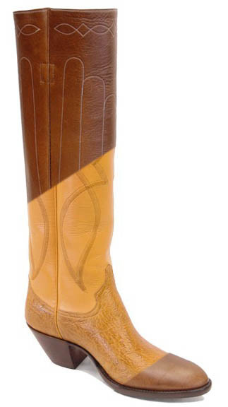 e0885ce6075 Tall Black Fancy Work (cowboy) Boots any Height/Size