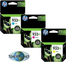 HP 933XL 3 Color Combo - Cyan, Yellow, Magenta
