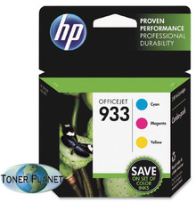 HP 933 3 Color Combo Pack (Cyan, Magenta, Yellow) CR313FN#140
