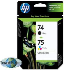 HP 74/75 Black Combo Pack  (CC659FN#140)