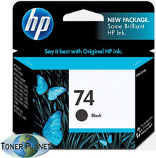 HP 74 Black (CB335WN#140)