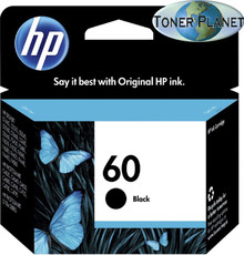 HP 60 Black CC640WN