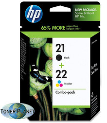 HP 21/22 Black/Tri-color Combo Pack (C9509FN#140)