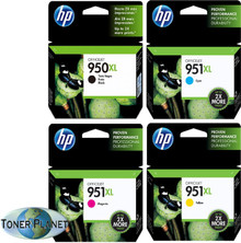 HP 950XL/951XL 4 Color Combo - Black, Cyan, Magenta, Yellow